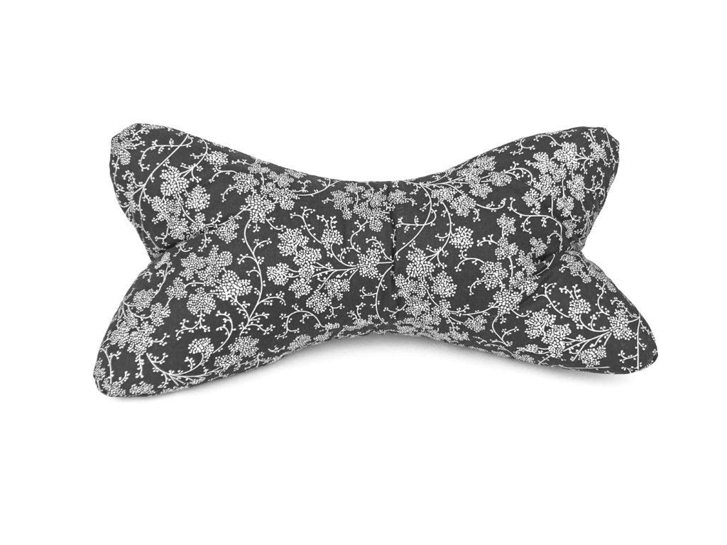 Leseknochen – große Ranken weiß/schwarz