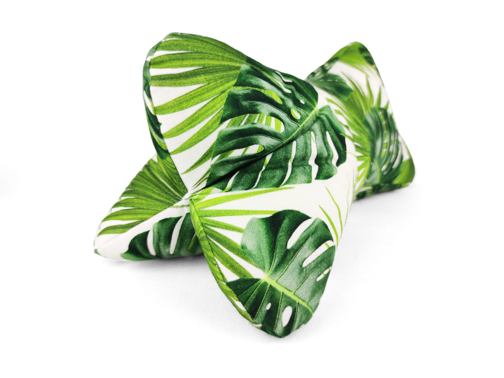 Leseknochen grüne Monstera Blätter Living green