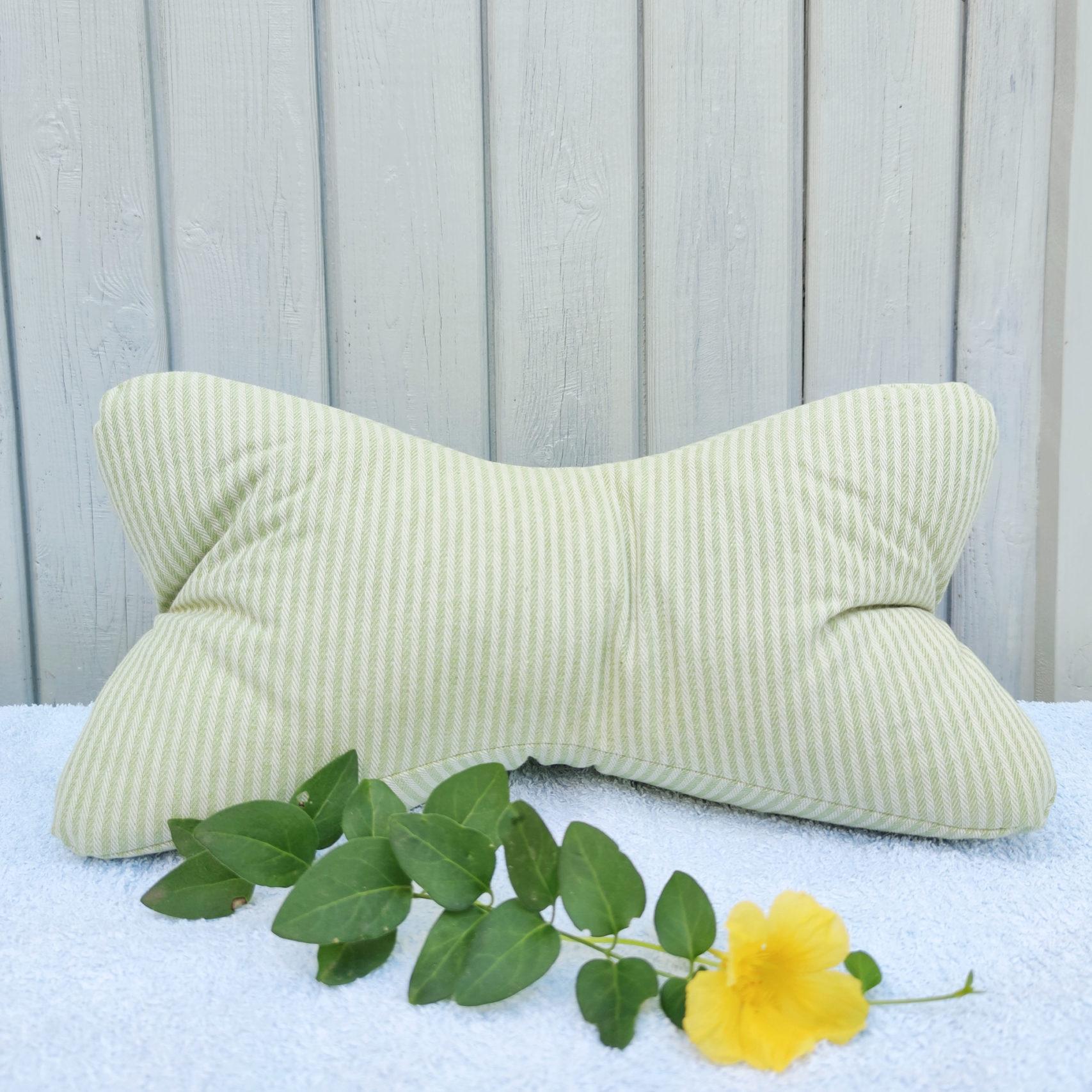 Leseknochen-Streifen-hellgrün