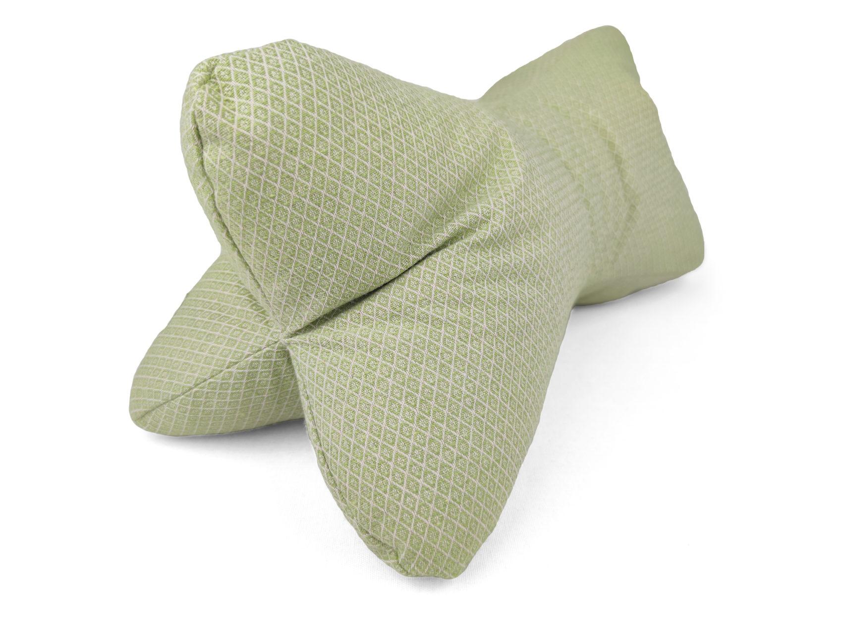 Leseknochen-hellgrün-Rauten