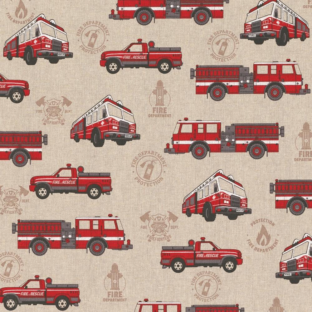 Kissenbezug 40x40cm - Feuerwehr