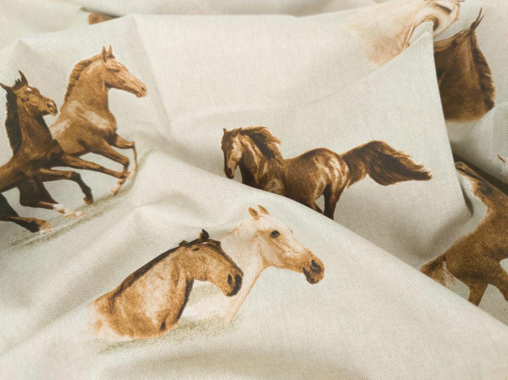 Kissenbezug 40x40cm - Pferde