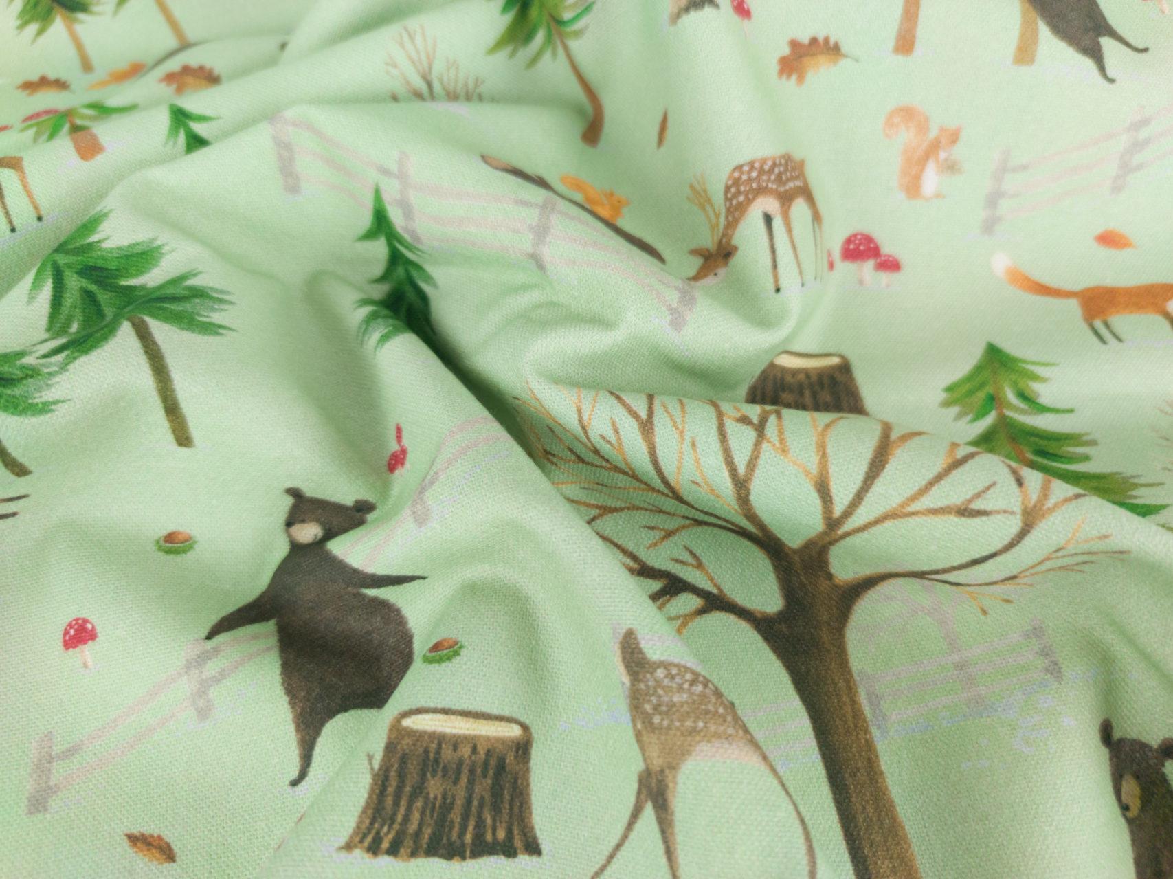 Leseknochen-Waldtiere