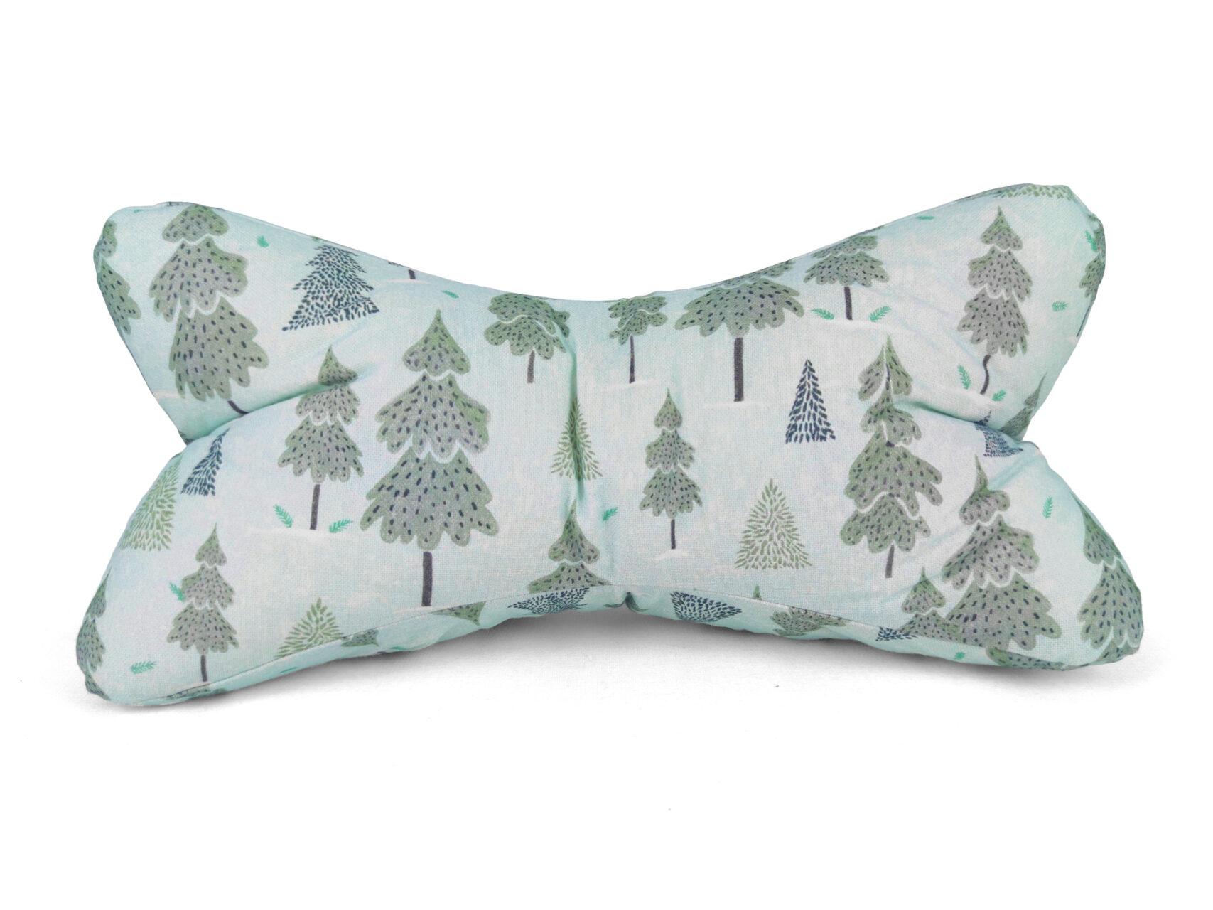 Leseknochen-Winterwald-blau-grau